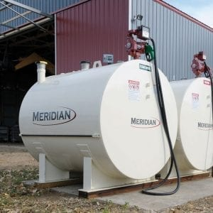 Meridian Double Wall Horizontal Fuel Tanks